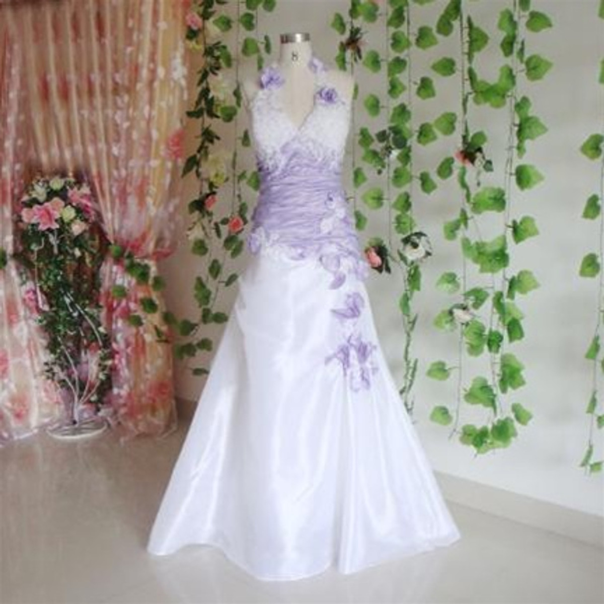 Purple Wedding Dresses.Purple Wedding Dress Available In Every Color 7