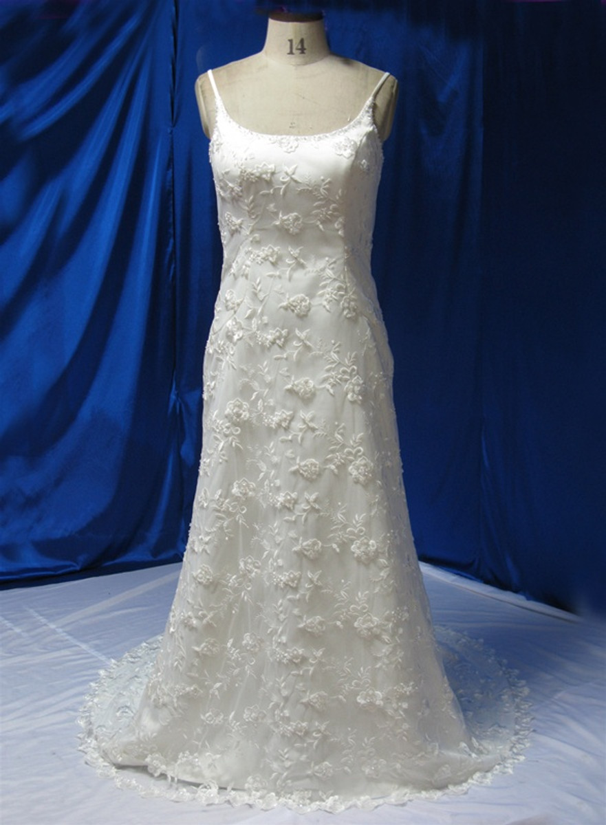 Vintage Inspired Wedding Dress Available In Every Color 22