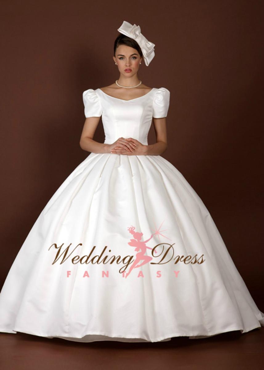 Audrey Hepburn Inspired Wedding Dress
