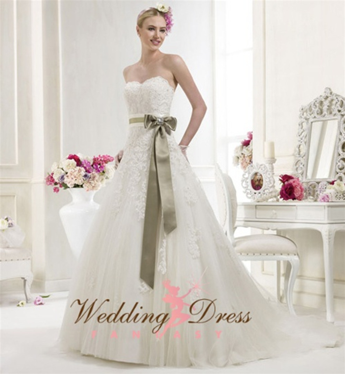 Vintage Inspired Wedding Dress- Available in Every Color 35