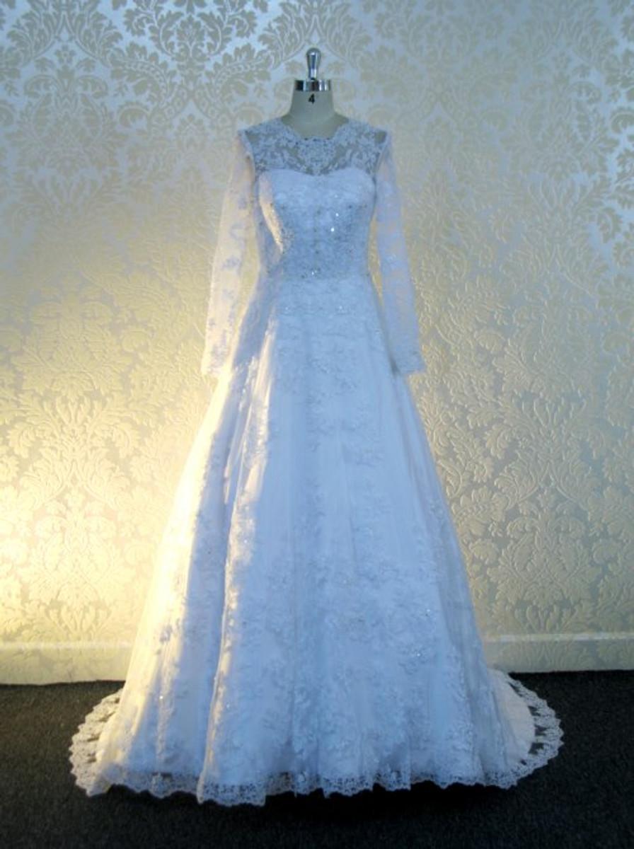 Modest Lace Wedding Dress