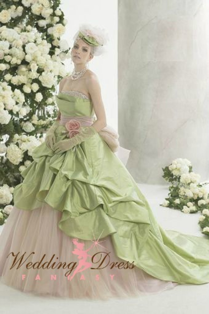 Light Green Wedding Dress - Available in Every Color