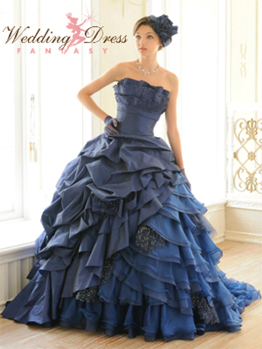 Gorgeous Blue Wedding Dress Available in Every Color