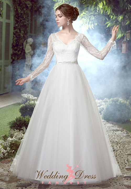 modest wedding dresses