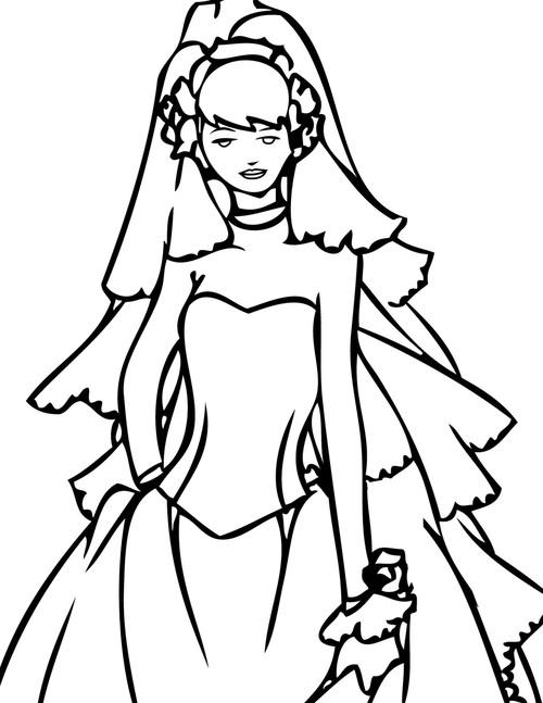 Custom Wedding Dress Modest
