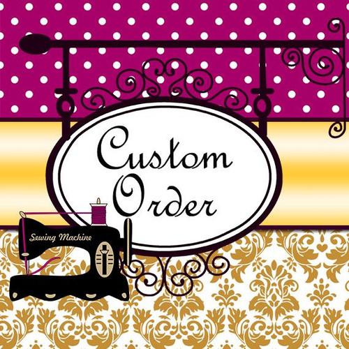 Custom Wedding Dress for SandraK Balance