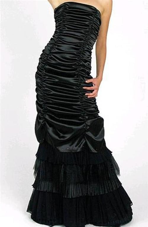 Black Gothic Bridal Dress 4