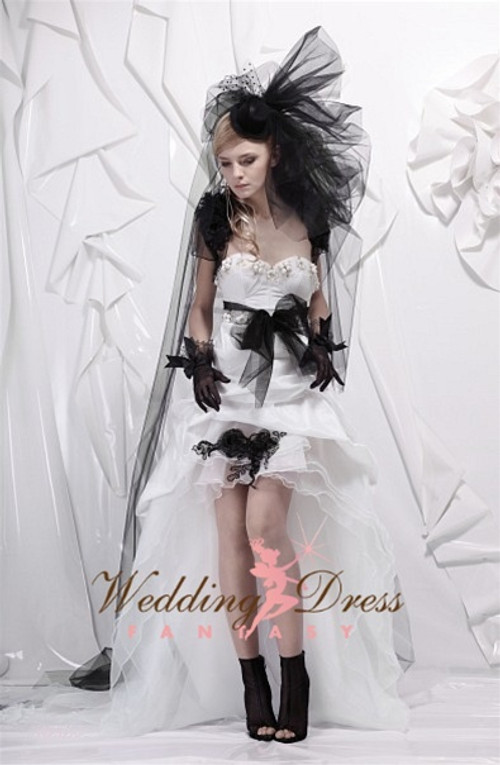Rock and Roll Wedding Dress Punk Wedding Gown