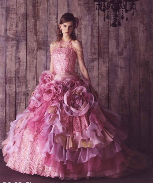 Pink Wedding Dress - Available in Every Color 3
