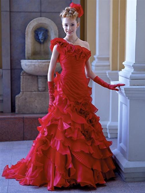 Red Wedding Dress 7