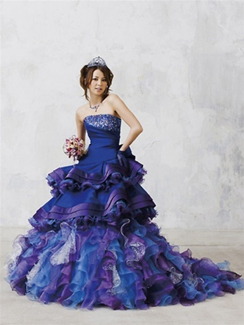 Blue Bridal Gown  - Available in Every Color 1