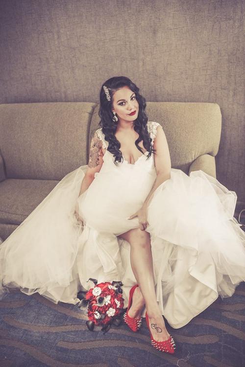 Custom Wedding Dress Bridal Gown for Carrie I.