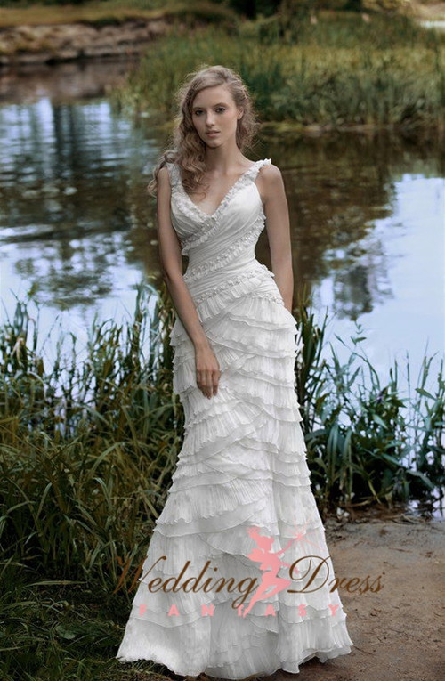 Vintage Inspired Wedding Dress- Available in Every Color 2