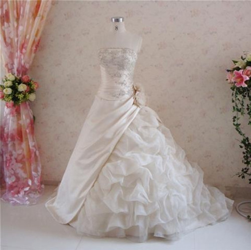 Cream Wedding Dress - Available in Every Color 8