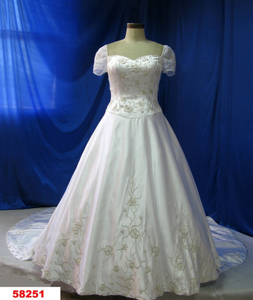 Plus Size Wedding Dress - Available in Every Color 14