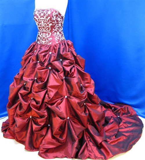 Red Wedding Dress - Available in Every Color 21