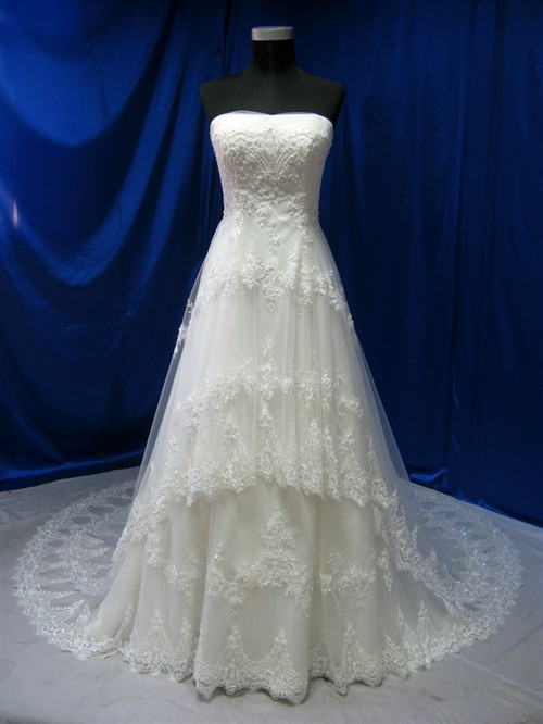 Vintage Inspired Wedding Dress - Available in Every Color 6