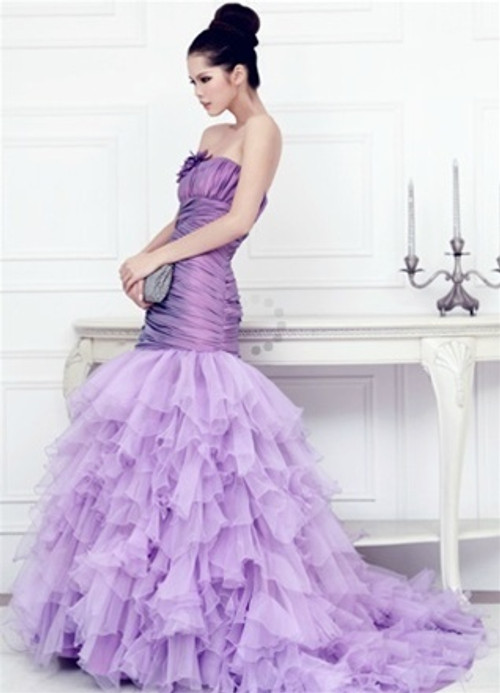 Purple Wedding Dress