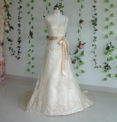 Vintage Inspired Wedding Dress- Available in Every Color 16