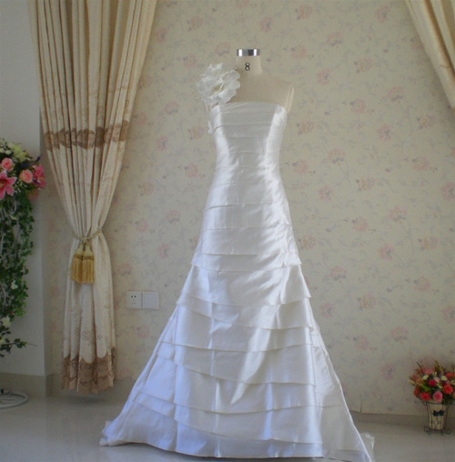Trumpet Style Vintage Inspired Wedding Dress- Available in Every Color 7