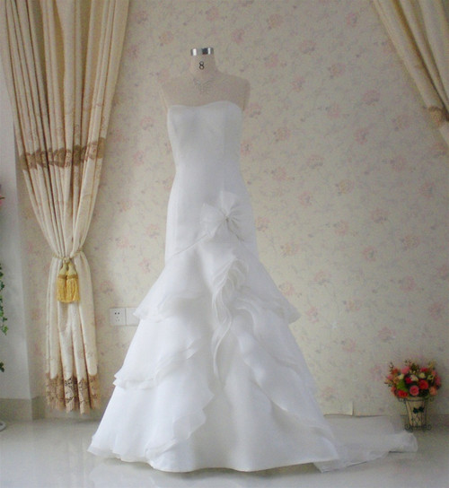 Trumpet Style Vintage Inspired Wedding Dress- Available in Every Color 8