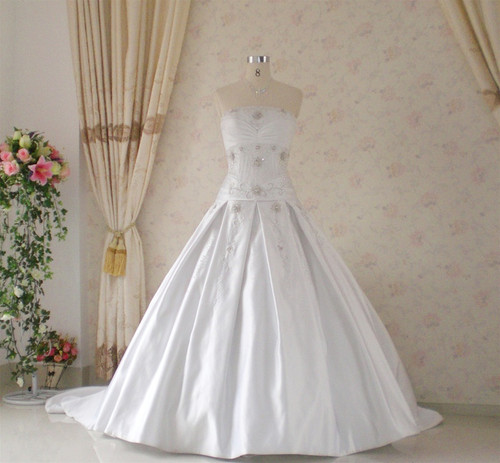 Vintage Inspired Wedding Dress- Available in Every Color 28