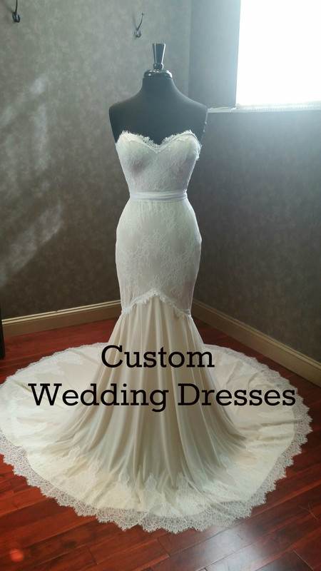 Custom Wedding Dress Bridal Gown for Jessica G
