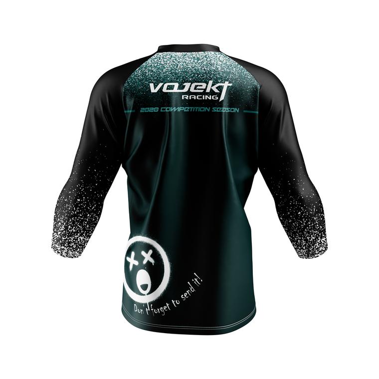 3/4 Sleeve MTB Podium Style Jersey - Team Edition