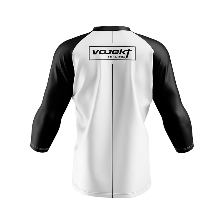 3/4 Sleeve MTB Podium Style Jersey -  1.0 Senders Row Trail Line Inspired Edition