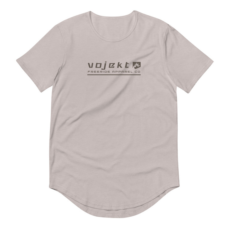Men's Curved Hem T-Shirt - Freeride Apparel Co
