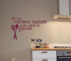 Vinyl Decals for the Kitchen, It's the moments together that change us forever, Kitchen Wall Decor-Burgundy