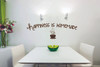 Happiness is Homemade Saying for the Kitchen Decor, Vinyl Kitchen Wall Decals-Chocolate Brown
