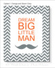 Dream Big Nursery Wall Decor Canvas Wall Art Print for Baby Room
