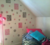Fun Girls Teen Room Zebra Print Stickers