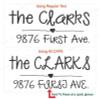 Font Size Samples