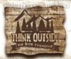 Think Outside No Box Required Summer Quotes Decals