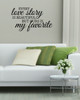 Every Love Story Is Beautiful Bedroom Wall Words Wall Sticker Decals