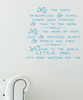 Dragonflies and Stars Wall Decal Quote Vinyl Stickers for Nursery Room Decor-Geyser Blue
