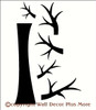 Tree Wall Decal with Branches Vinyl Stickers Popular Wall Art Decals for Photo Collage