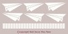 Paper Airplanes Vinyl Wall Sticker Decals for Boys Bedroom or Playroom