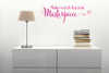 Make each day your Masterpiece Swirly Wall Sticker Decals Quotes Wall Letters