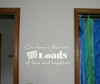 Our Home is Filled with Loads of Love and Laughter Laundry Room Wall Sticker Decals-White