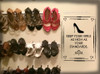 Heels as High as Your Standards - Shoe Wall Decal Vinyl Sticker Quote for Bedroom