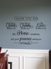 Thank you for Food Family Friends Home Vinyl Wall Art Decal for the Home