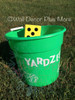 Polka Dots Stickers for Yard Yahtzee Dice Block Cubes and Decals for Pail