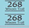 Street Address Mailbox Decals Vinyl Letters Custom Stickers