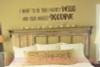 Favorite Hello Hardest Goodbye Love Vinyl Letters Decals Bedroom Quote-Chocolate
