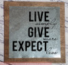 Give More Quote on Metal Wood Sign for Wall Art Home Decor