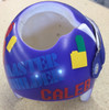 Building Blocks Cranial Helmet Band Decal Sticker Accessories Boys Master Builder with Name