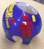 Cranial Helmet Band Decal Sticker Accessories Boys Master Builder Building Blocks Block Man
